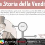 La storia della vendita