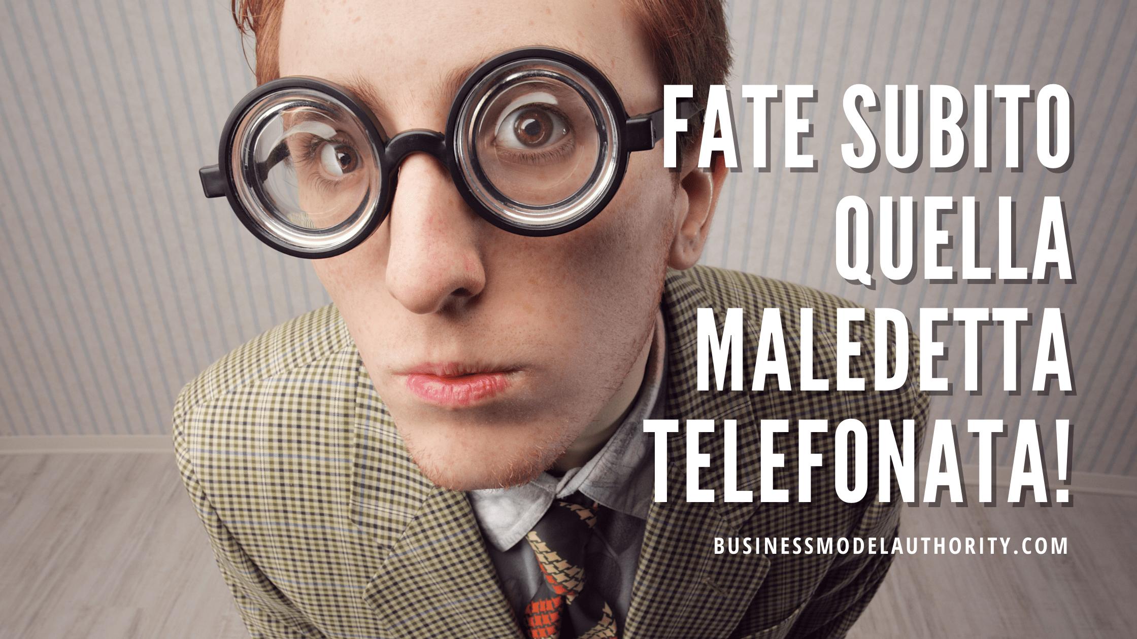COME FARE PROSPEZIONE AL TELEFONO
